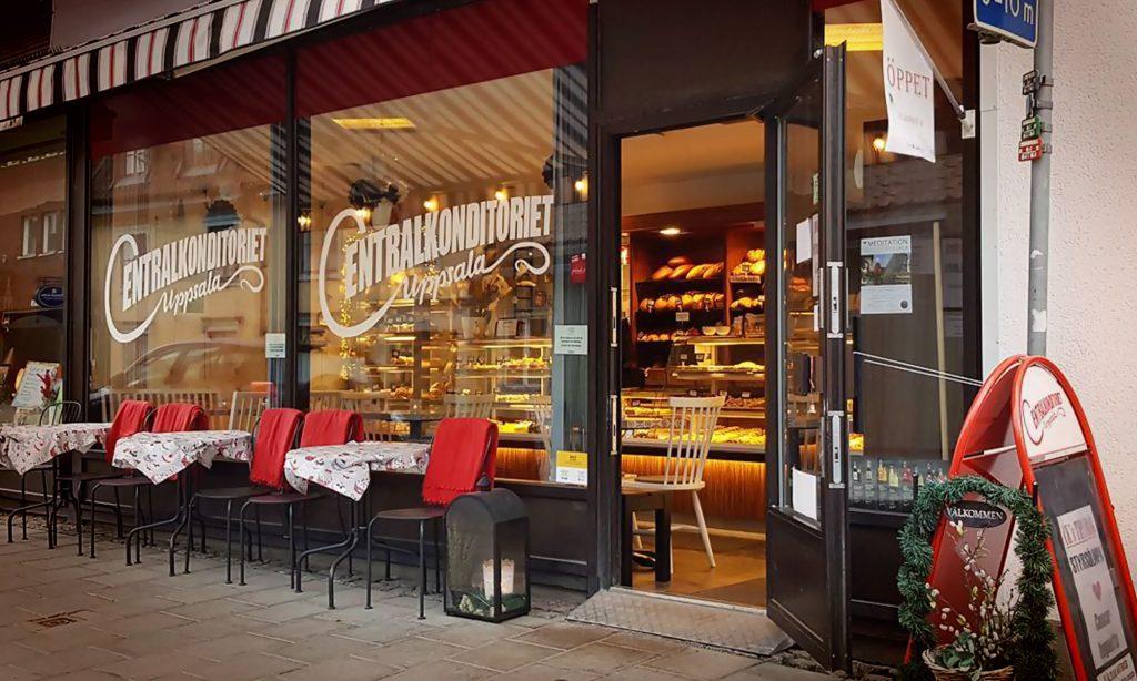 Centralkonditoriet Uppsalas butik